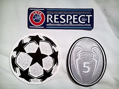 Bayern München Trikot Champions League Patch Logo 2017 Respect Real Madrid