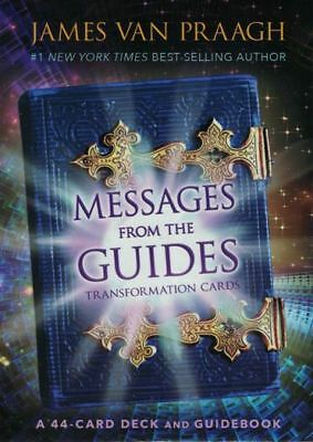 Messages From The Guides Transformation Cards by James Van Praagh (NEW & Sealed)