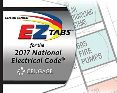 Color Coded EZ Tabs for the 2017 National Electrical Code (Loose Leaf)