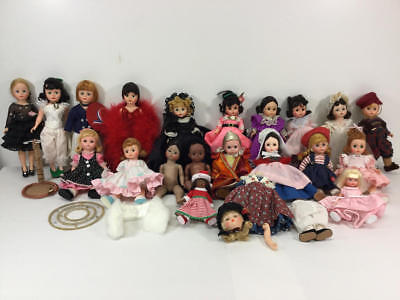Madame Alexander Miscellaneous Doll Lot Some Tlc