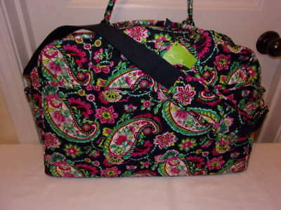 Vera Bradley New With Tag Petal Paisley Weekender Airline Compliance Free Ship