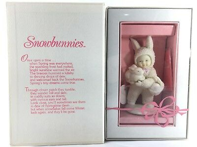 """Snowbunnies Department 56 """"I'll Love You Forever"""" New With Tag And Booklet"""