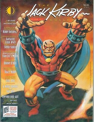 Jack Kirby Collector Issue #23 Feb. 1999 VG+ 1st printing - The Demon