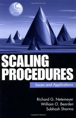 """Scaling Procedures: Issues and Applications ([""""Richard G. Netemeyer"""",""""William O."""