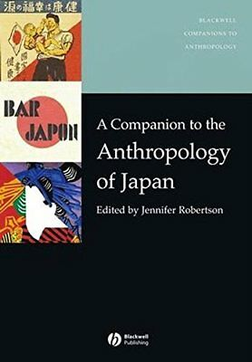 A Companion to the Anthropology of Japan | Wiley-Blackwell