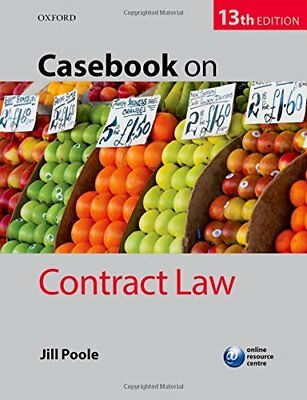 Casebook on Contract Law (Jill Poole) | OUP Oxford