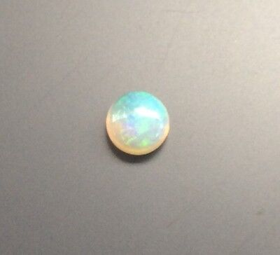 Round Shape Cabochon Natural Solid Australian Opal 5Mm 1 Pc Loose Gemstone