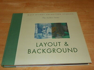 Walt Disney Animation Studios the Archive Series: Layout & Background Hard Cover