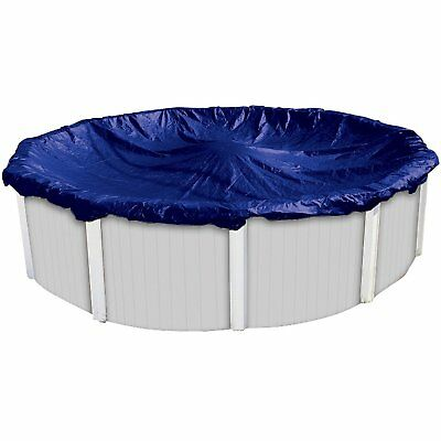 Dirt Defender 8-Year 24 Ft Foot Round Above-Ground Winter Swimming Pool Cover DIRT DEFENDER 8-YEAR