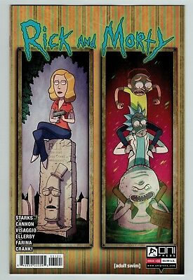 Rick and Morty 31 variant cover Oni Press current series 1st print Hot title