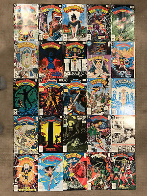 Wonder Woman 1987 Lot 1-25 Annual 1 And Special 1 (27 Comics)