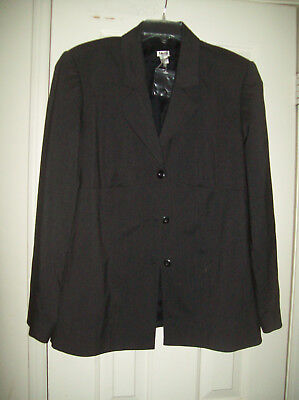Womens Size Large Maternity Black Blazer NEW