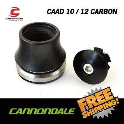 "New Giant Canyon OD2 Black Headset Top Cap Stem Head 1 1//4/"" Steerer 35.2mm OD"