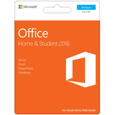 New Microsoft - Office Home & Student 2016 - PC
