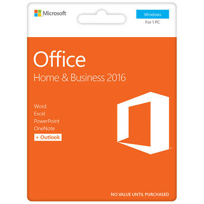 New Microsoft - Office Home & Business 2016 - PC from Bing Lee