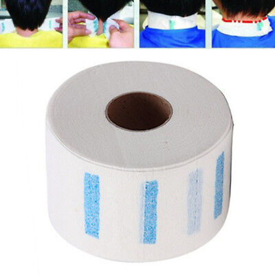 100pcs/Roll Pro Stretchy Disposable Neck Paper Strips Barber Salon Hairdressing