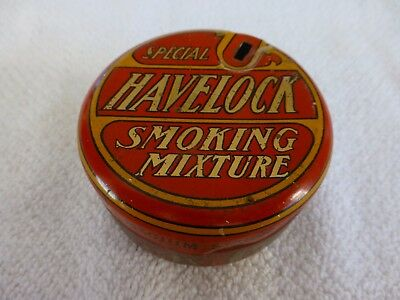 VINTAGE RED SPECIAL HAVELOCK SMOKING MIXTURE TOBACCO TIN 2 ozs BRITISH AUSTRALIA