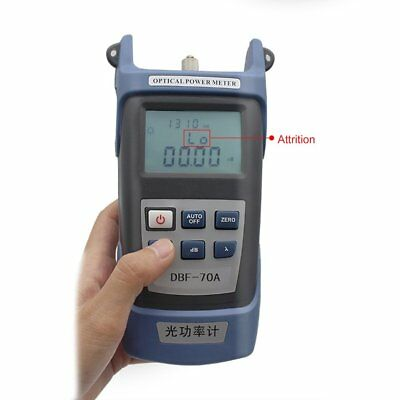 High Precision Fiber Optical Power Meter -70~+10dBm SC/FC/ST Connector DBF-70A U