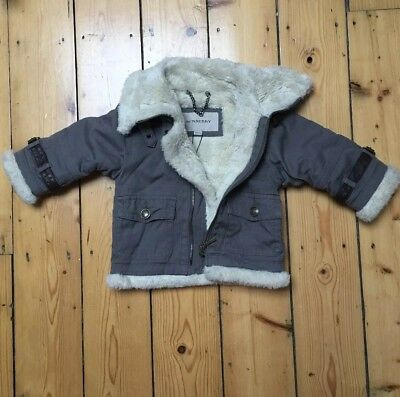 Burberry Baby Designer Winter Coat 12 Month 80 Cm