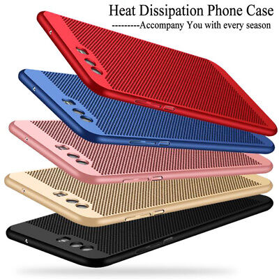 For Huawei P9 Breathable Shockproof Ultra-thin Light Matte Hollow PC Covers Case
