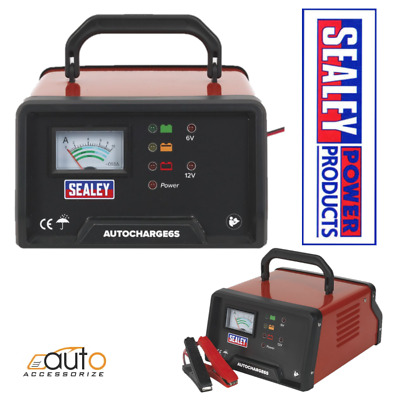 Sealey AUTOCHARGE6S Auto Maintenance High Frequency Battery Charger 6/12V 6Amp