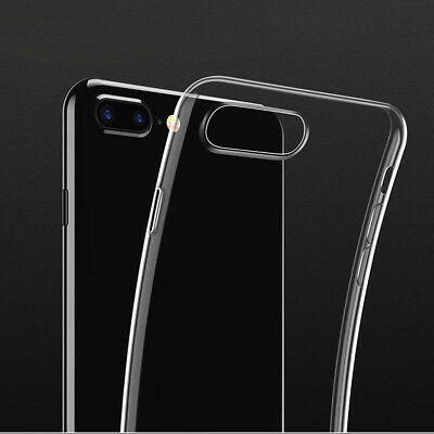 New Ultra Slim Rubber Soft TPU Silicone Back Case Cover for Apple iPhone 8 Plus