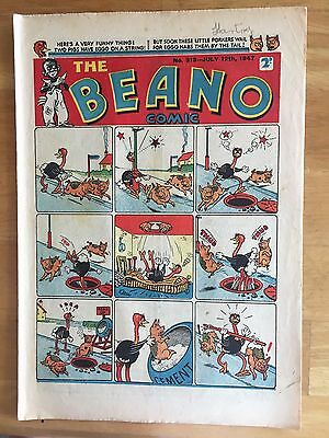 THE BEANO COMIC JULY 12th 1947 LORD SNOOTY PANSY POTTER 70th BIRTHDAY GIFT! FINE