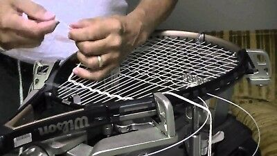 Restring Tennis Racquet ( String + Labor Cost)   frame Racquet need add String