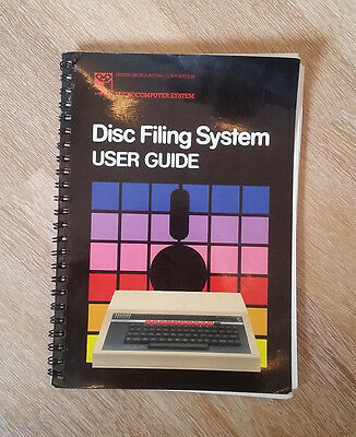 Disc Filing System User Guide BBC Microcomputer System Acorn 1983 englisch