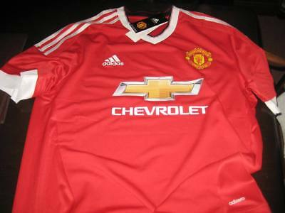 Manchester United Adizero Home 2015/16 Football Shirt With Tags