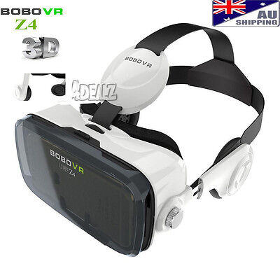 "Xiaozhai Z4 BOBOVR 3D VR Virtual Reality Glasses Headset for 4""-6"" Smartphone AU"