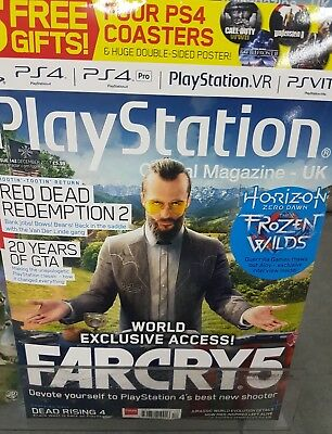 PLAYSTATION OFFICIAL MAGAZINE UK - ISSUE 142  2017 With free gifts