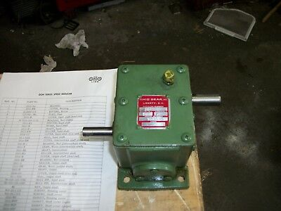 ohio gear reducer 50:1