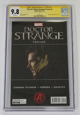 CGC Graded 9.8 Marvel's Doctor Strange Prelude No. 2, 2016 Signed by Stan Lee