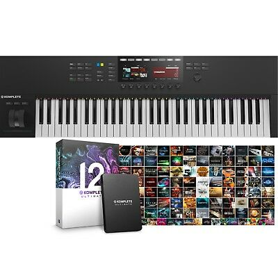 Native Instruments Komplete Kontrol S61 Mk2 & Komplete 12 Ultimate Software