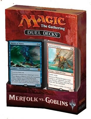 Magic - Merfolk vs Goblins, Dual Deck