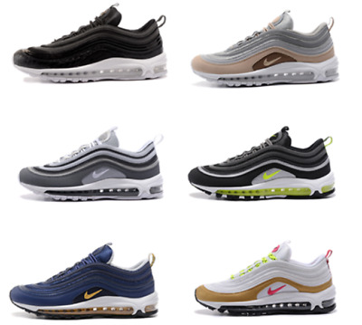 Men'S Air Max 97 Limited Edition Bullet Trainers Gym Shoes All Sizes / ++ Box