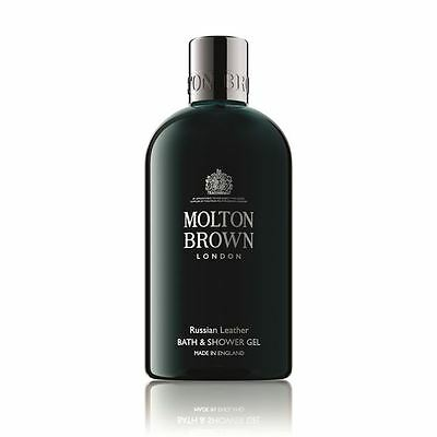 Molton Brown Russian Leather Bath & Shower Gel – 300ml – NEW Ltd Edition