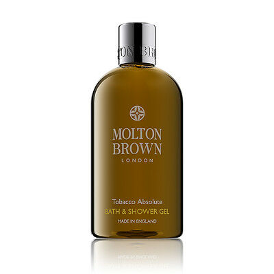 Molton Brown Tobacco Absolute Body Wash / Shower Gel - 300ml - NEW