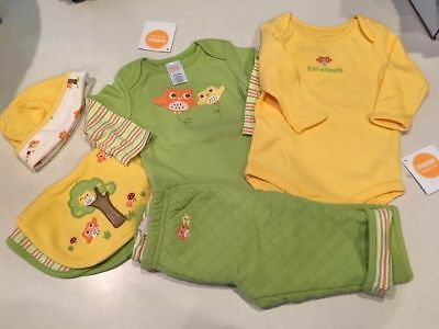 Gymboree NWT Gender Neutral BOY GIRL Clothing & Accessories Lot 3-6 Months OWLS