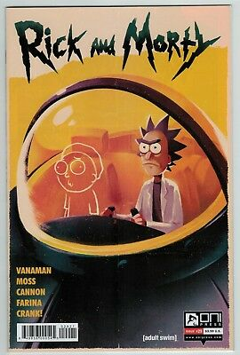 Rick and Morty 29 variant cover Oni Press current series 1st print Hot title