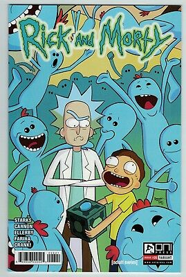 Rick and Morty 26 variant cover Oni Press current series 1st print Hot title