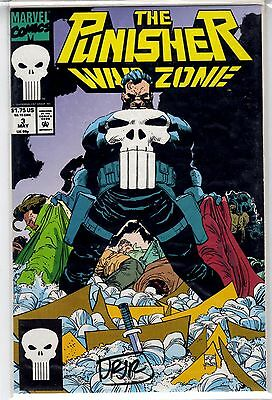 The Punisher War Zone #3 Marvel Comics, Signed by John Romita Jr. 9.2 NM