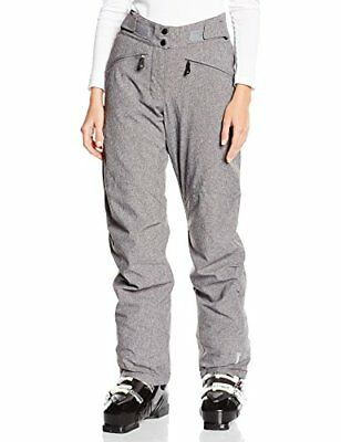 Eider Lamolina Pantalon Femme, Lunar Grey Heather, 36 (XS)
