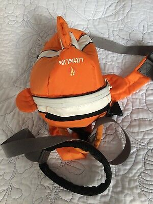 New Little Life Orange Clown Fish Rucksack / Backpack Baby Reins