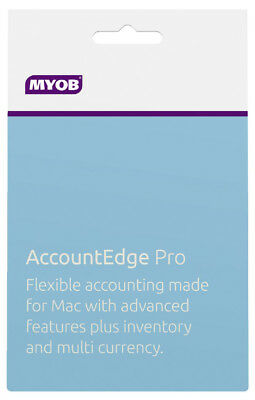 New MYOB - AccountEdge Pro from Bing Lee