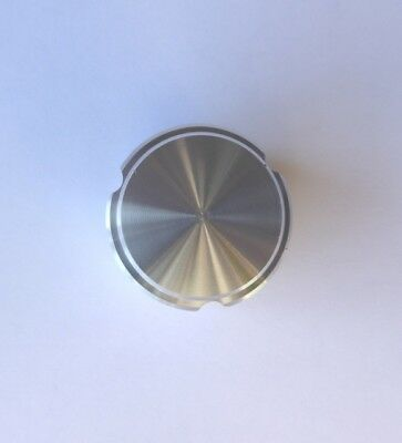 Knob, Aluminum 1/4 Shaft Diameter With Set Screw, Alco k-900a1/4, 1''x5/8''