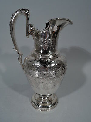 Tiffany Ewer - 1956 - Antique Early Broadway Mark - American Sterling Silver