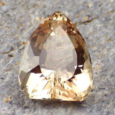 PEACH-WALNUT SCHILLER OREGON SUNSTONE 6.80Ct FLAWLESS-FROM PANA MINE-FOR JEWELRY
