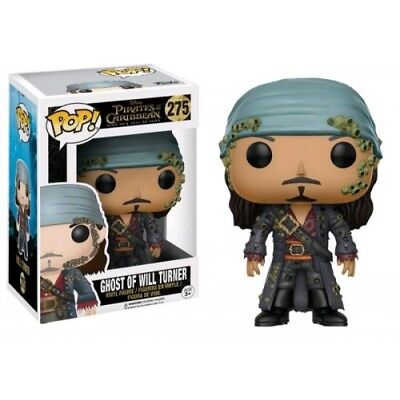 Funko Pop! Pirates Of The Caribbean 275 Ghost Of Will Turner Vinyl Figure